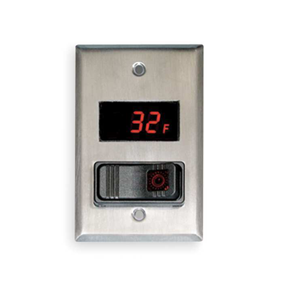 Digital LED Thermometer & Switch